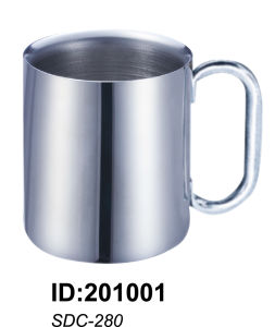 18/8stainless Steel Doubled Wall Mug Sdc-280 pictures & photos