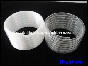 Hot Sell Fire Polish Spiring Fused Silica Glass Tube pictures & photos
