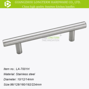 Hollow and Solid Stainless Steel Furniture Cabinet Kitchen T-Bar Pull Handles pictures & photos