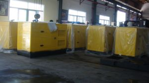 80kVA 64kw Yuchai Silent Diesel Generator Soundproof Canopy pictures & photos