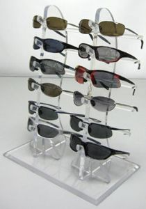 L Shape Acrylic 5 Eyeglasses Display Rack, 5 Pairs Eyewear Display Stand pictures & photos