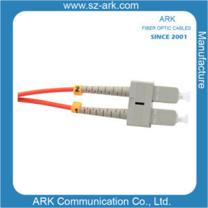 Sc-Sc Multimode Duplex Fiber Optic Cable/Patchcord pictures & photos