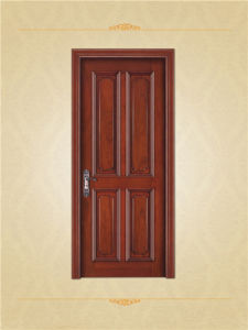 Traditional Chinese Style American Oak Wood Interior Doors pictures & photos