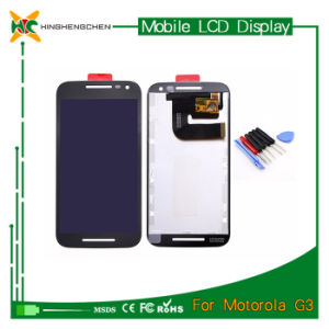 Hot Transparent LCD Screen for Sale for Motorola G3 pictures & photos