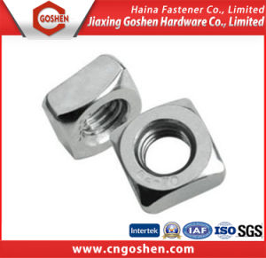 Stainless Steel Square Nut DIN557 M5-M20 pictures & photos