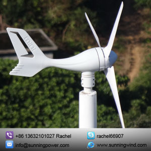 CE Approved 300W Wind Turbine Generator for Monitoring pictures & photos