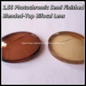 1.56 Photochromic Semi Finished Blended-Top Bifocal Lens