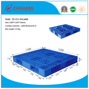 1300*1100*150mm Warehouse Products HDPE Plastic Tray Grid Stack Plastic Pallet for Storage (ZG-1311) pictures & photos