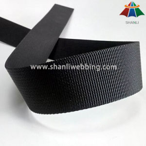 1 Inch Black Small Wave Nylon Webbing pictures & photos