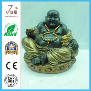 Polyresin Sculpture Chinese Buddha for Decoration pictures & photos