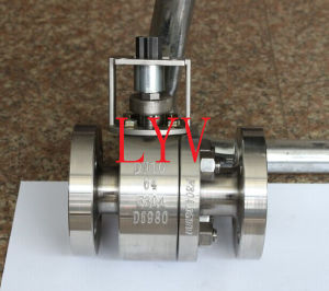 Flanged Bolted Stainless Steel Ball Valve