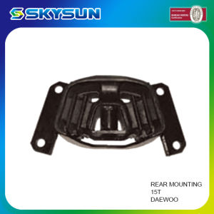 Truck Auto Spare Parts Rear Engine Mount for Daewoo 15t pictures & photos
