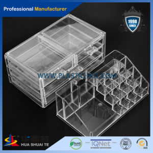 Cosmetic Organizer Clear Acrylic Makeup Drawers Holder Case Box pictures & photos