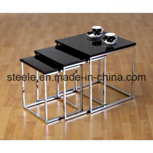 Modern Glass Nested Table (sw0052)