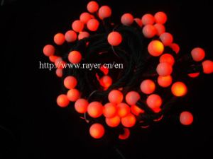 RGB LED Xmas Light Hotel Decoration Curtain Ball String Light pictures & photos