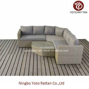 New Outdoor Rattan Sofa Set (1803) pictures & photos