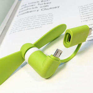 2 in 1 Mini Fan USB Fan for Android iPhone pictures & photos