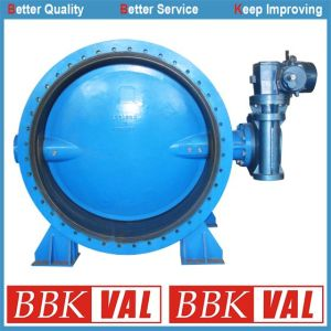 Double Flange Concentric Butterfly Valve with Vulcanized Seat pictures & photos