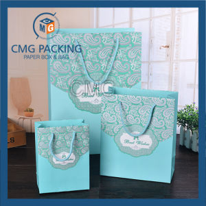 Romantic Tiffany Blue Wedding Packing Paper Bag (CMG-MAY-056) pictures & photos