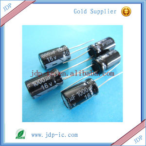 Hot Sell Capacitor 1000UF-16V pictures & photos