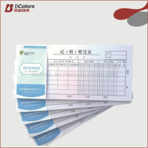 China Customized Bill Carbon Paper Receipt Book Printing - China ...