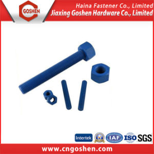 High Quality ASTM a 193 B7 Stud Bolt and 2h Nut pictures & photos