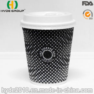 22oz Corrugated Paper Coffee Cup, Disposable Ripple Paper Cup (8oz) pictures & photos