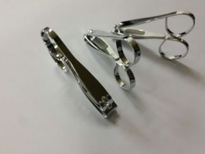 7.6cm Toenail Cutter with Scissor Handle and Laser File pictures & photos