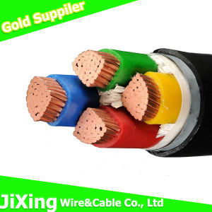 0.6/1kv Copper Conductor 4 Core 4mm PVC Power Cable pictures & photos