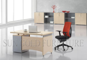 Wooden Melamine Office Furniture for Computer Table Executive Desk pictures & photos