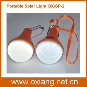 Portable Home Solar Emergency Flashlight Lighting Bulb pictures & photos