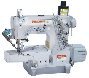 Direct Drive Super Speed Interlock Sewing Machine with Auto Trimmer pictures & photos