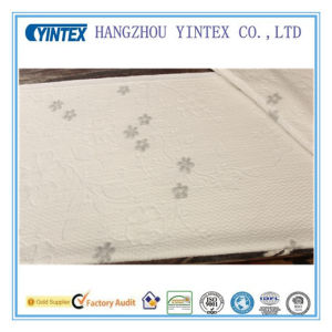 Yintex ISO9001 Knitted Folwer Polyester Fabric pictures & photos