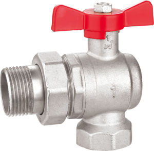Brass Ball Valve with Aluminum Handle BV-1440 M/F pictures & photos