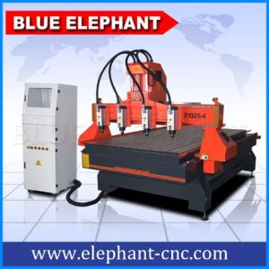 Ele-1325 4 Spindles CNC Router, Wood Cutting Machine pictures & photos