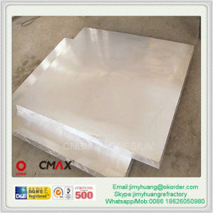 Magnesium Alloy Plate Az31b Mg Board for Europe Market (mg)