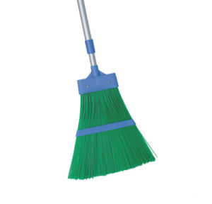 Telescopic Handle Super Quality Plastic Garden Broom (1405) pictures & photos