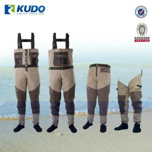 Top Quality Custom Breathable Fishing Wader, Plus Size Chest Fishing Wader