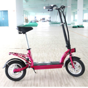 Factory Wholsale 300W Brushless Motor E Scooter (ES-1202) pictures & photos
