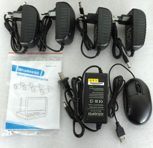 4 Channel 1.0 Megapixe Combo Wireless NVR Kit Hdcvi pictures & photos