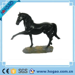Art Deco Sculpture Horse Stand Pose Resin Statue pictures & photos