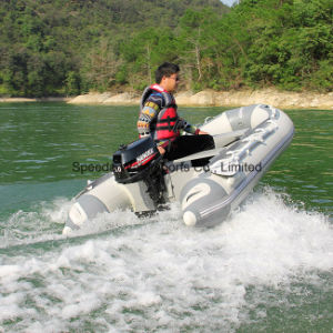 Chinese 5HP 2 Stroke Water Cooling Outboard Motor for Inflatable Boat pictures & photos