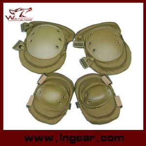 Military Protectived Pads Force Advanced Tactical Knee Elbow Pads pictures & photos