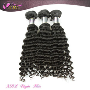 One Donor Virgin Indian Hair Weft Cheap Hair Extensions pictures & photos