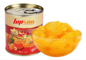 312g Canned Orange in Light Syrup pictures & photos