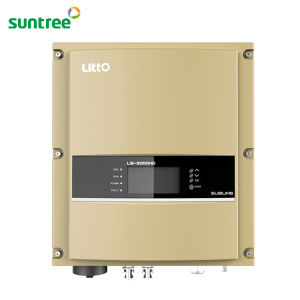 Three Phase DC to AC Solar Power 10kw Inverter on Grid Inverter pictures & photos