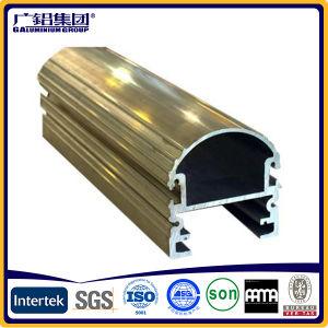 Price of Industrial Gold Color Aluminium Profiles pictures & photos
