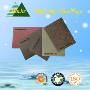 Custom Designed Pattern Embossed Packaging Coated Paper