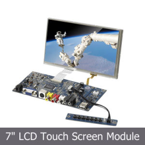 "7"" TFT LCD Color Monitor with HDMI VGA Input pictures & photos"