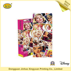 Marilyn-Stamps Slim Custom Jigsaw Puzzle